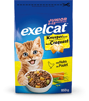 Exelcat™ Junior Knusper Menu